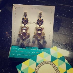 Stella & Dot Nila Chandelier Earrings